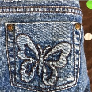 Other - Super Cute Butterfly Denim Jeans